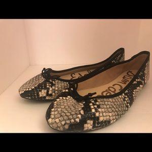 Sam Edelman Carla leather ballet flat New Sz 9